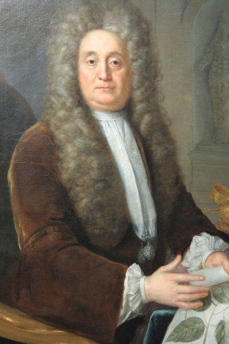 Stephen Slaughter, Portrait de Hans Sloane, 1736, huile sur toile, Londres, Portrait Gallery.