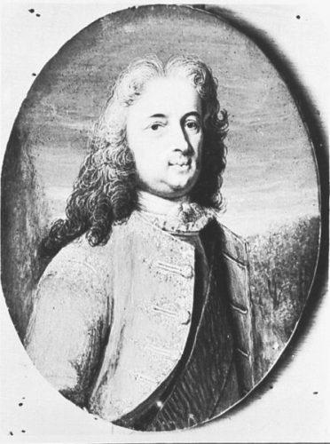 Andreas Möller, Portrait de Charles Ier de Hesse-Cassel, ca. 1720, toile, dimensions inconnues, Kassel, Staatliche Kunstsammlungen, Schloß Wilhelmshöhe.