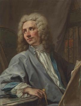 Jean Restout II, Portrait de Pierre Vigné de Vigny, vers 1720, huile sur toile, 81,6 x 65 cm.