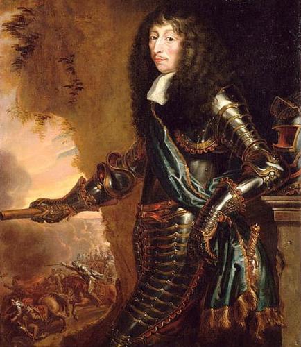 Juste d'Egmont, Portrait de Louis II de Bourbon, prince de Condé, dit le Grand Condé , en habit, huile sur toile, 146 x 110 cm, Chantilly, musée Condé.