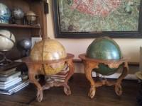 Globes céleste et terrestre