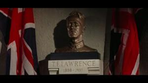 La statue de Lawrence