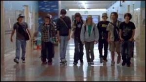les skateurs