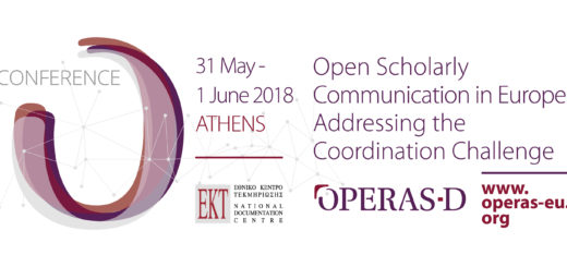 OPERAS Conference 31 May - 1 June Athens