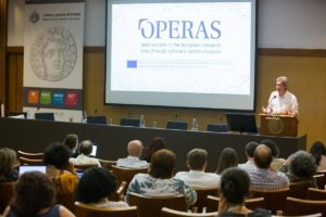 OPERAS Conference, Pierre Mounier, 31 May 2018