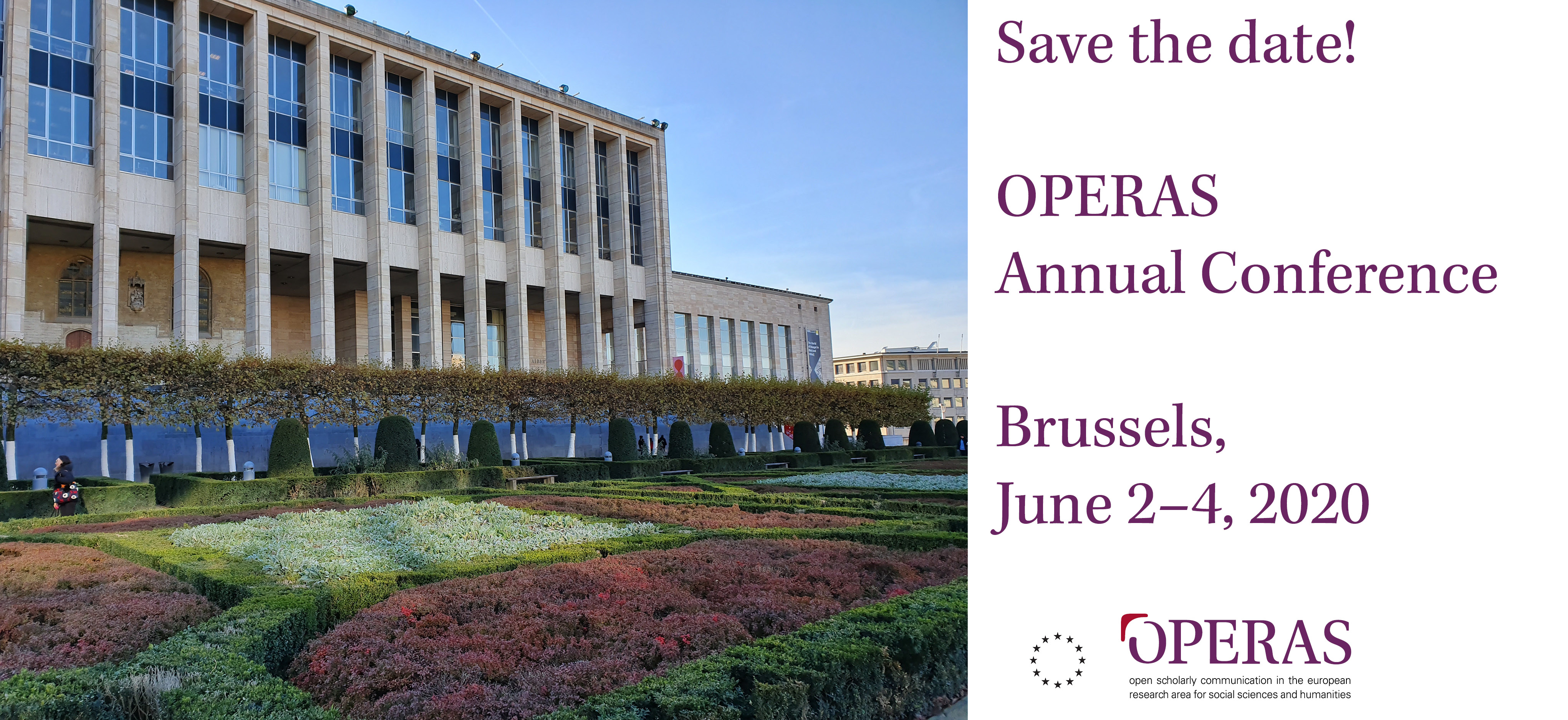 OPERAS Save the date