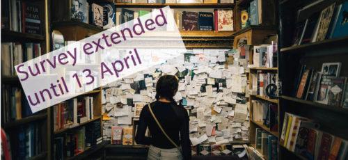 Survey extended: 13 April 2020