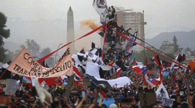 Memória, Vírus, Revolta no Chile (8 dez/20)