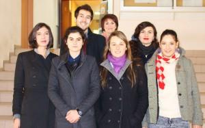 First redactional team (2015)