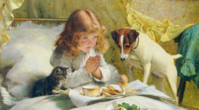 How Did Charles Burton Barber Showcase Victorian Identity Through His Paintings?