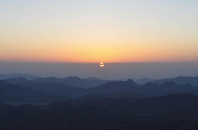 Sinaï-aube