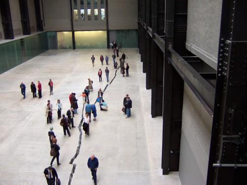 Doris Salcedo: Shibboleth, Tate Modern, London 2008
