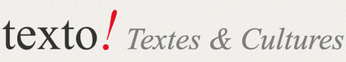 Texto ! Textes & Cultures