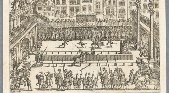 Pau, 22 octobre 2016 – Mourir en chevalier à la Renaissance – Une conférence de Nicolas Le Roux