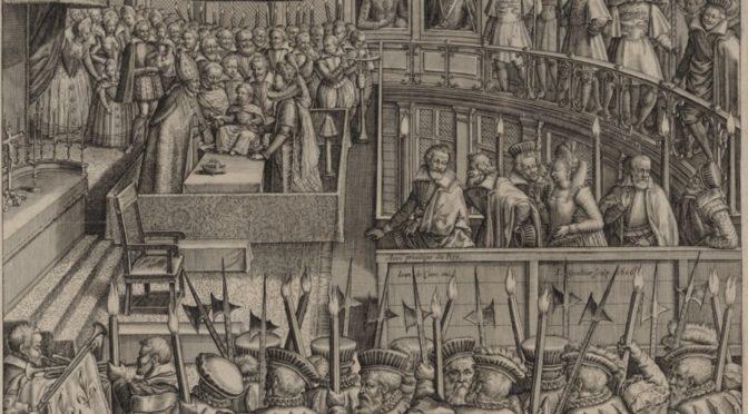 Pau, 9 septembre 2017: La cour d'Henri IV, un instrument au service du pouvoir royal