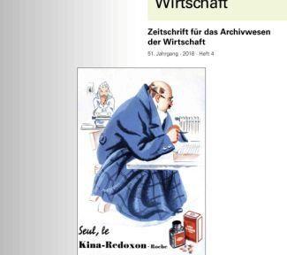 """""""Archiv und Wirtschaft"""" – Ausgabe 4/2018"""