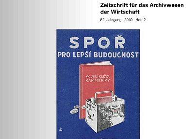 """""""Archiv und Wirtschaft"""" – Ausgabe 2/2019"""
