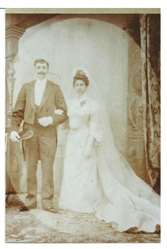 mariage arrangé  flandre 1903