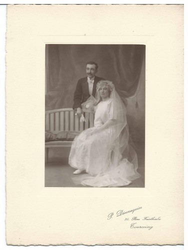 mariage motte vandevenne 1920