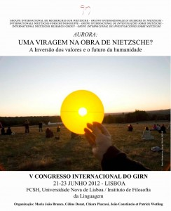 Affiche GIRN 2012 Lisboa