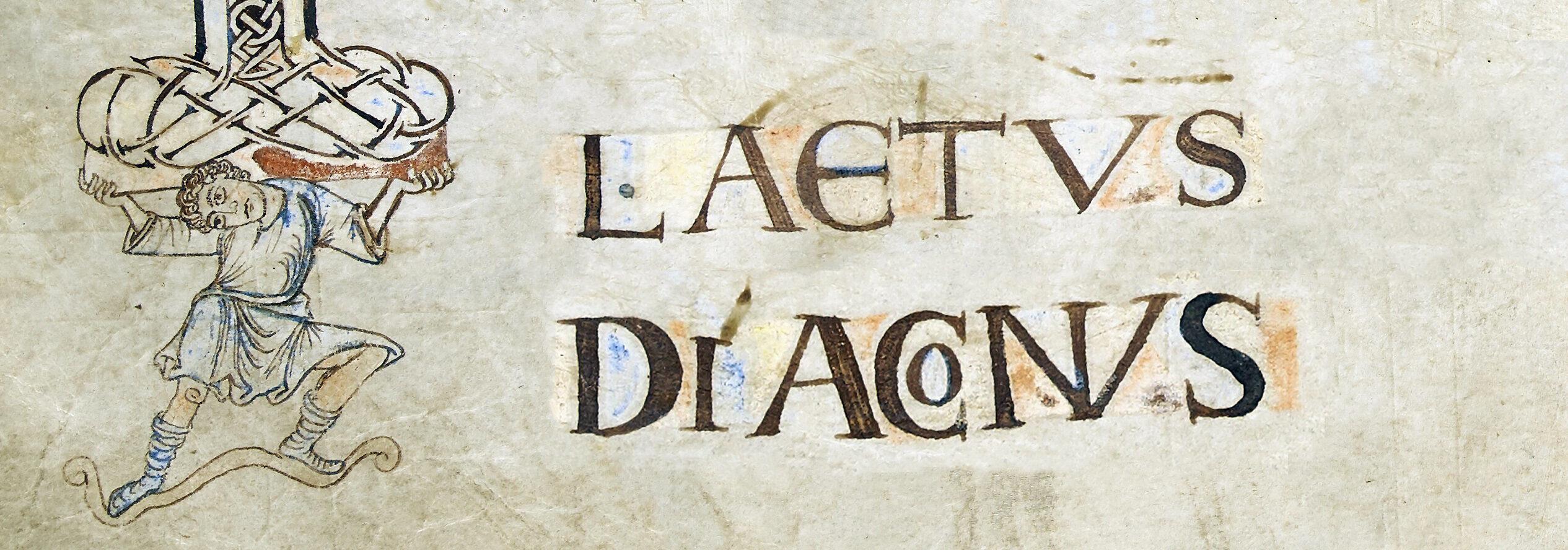 Laetus diaconus
