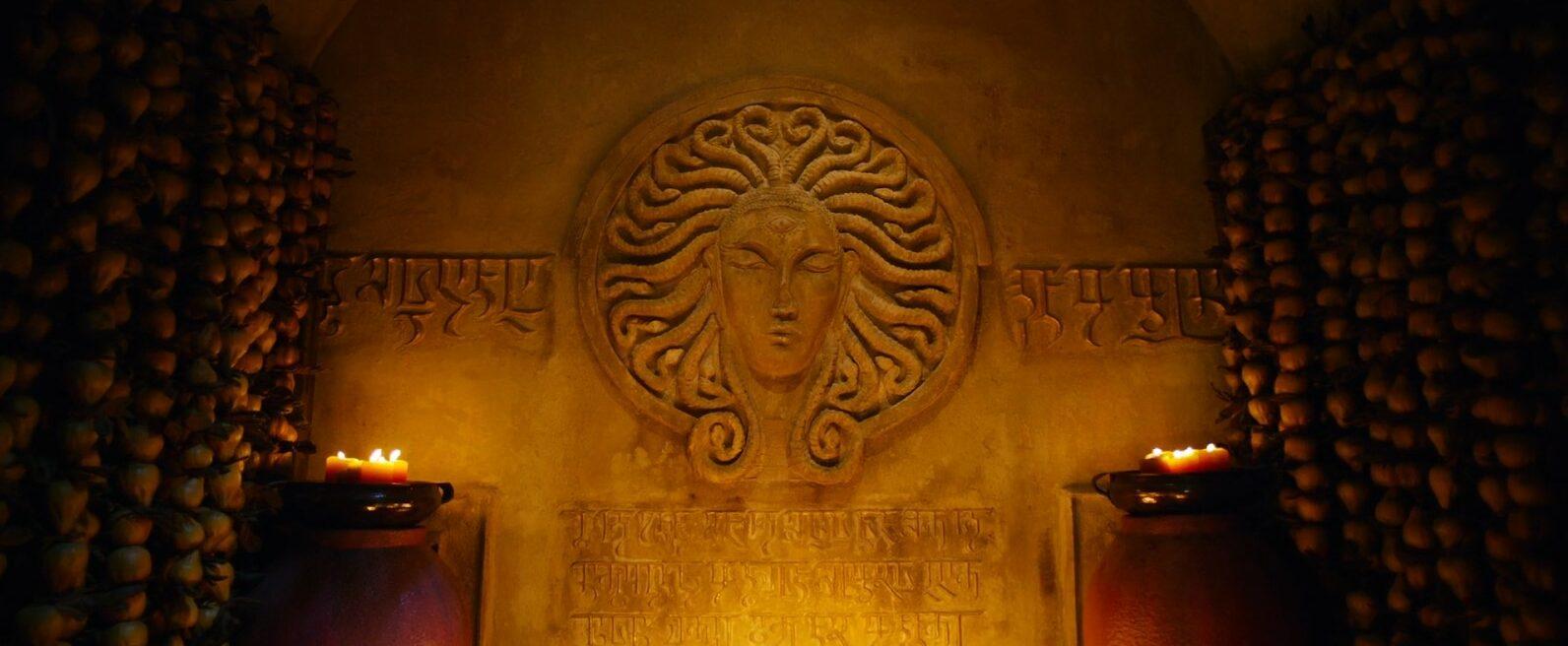Une divinité aux allures de Méduse | « Mortal Engines» (2018), Christian Rivers – Universal Pictures International France