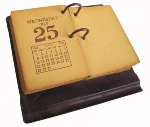 calendar antique