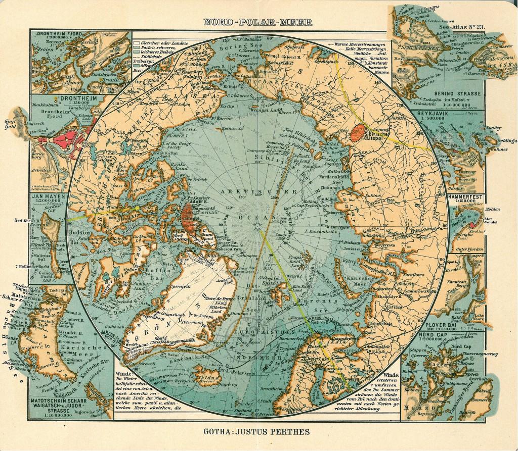 Dernières cartes du pôle nord | Freakonometrics