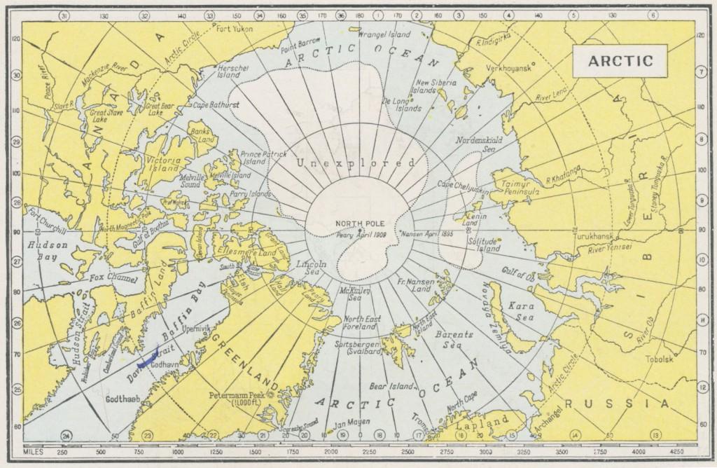 Dernières cartes du pôle nord   Freakonometrics