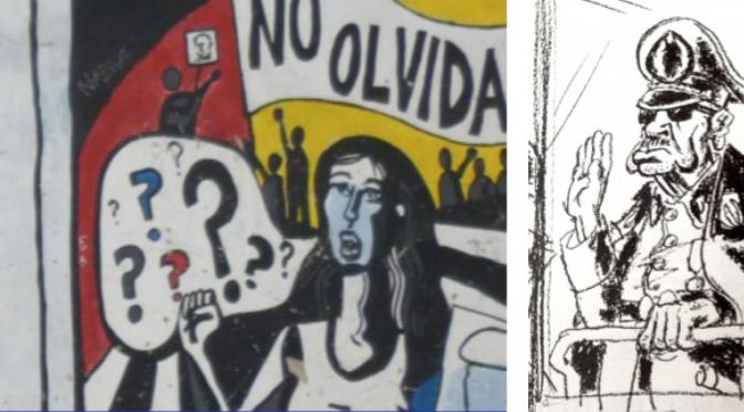Un billet de Manuel Gárate sur Nuevo mundo radar à propos des caricatures de Pinochet