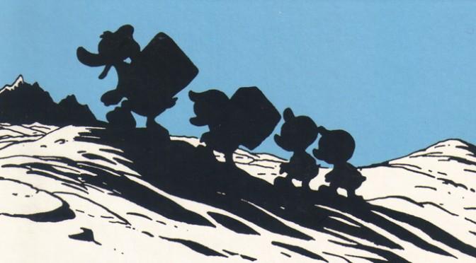 Die Suche im Comic III: Lost in the Andes von Carl Barks