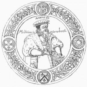 Titelblatt des Liber Senectutis (Historisches Archiv der Stadt Köln)