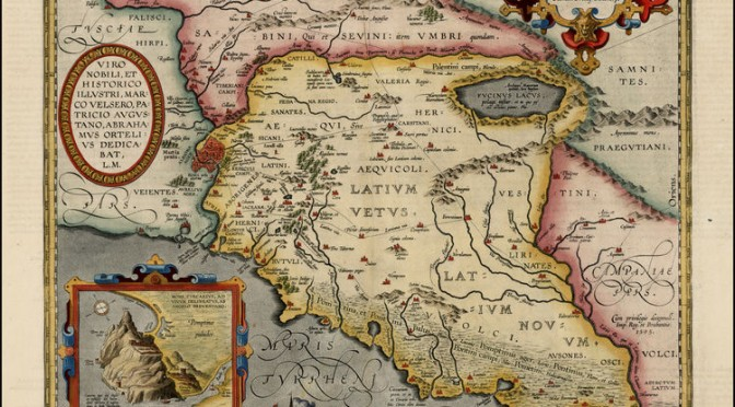 Dalle terre pontine all'Africa romana: Marie René de La Blanchère, archeologo, epigrafista, orientalista