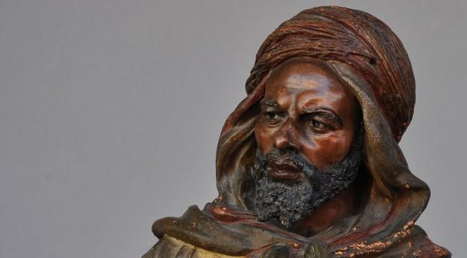 Brève présentation d'un ouvrage de Stéphane Richemond sur les terres cuites orientalistes et africanistes