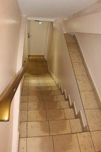 Treppe WC