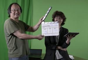 joseph Han président de Ventilo Editions/Les Jardins numériques lance le tournage du premier module de Passerelles de Mémoire.