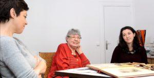 Enregistrement des témoignages de 3 générations