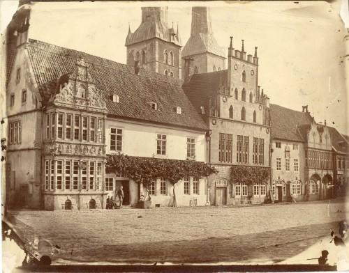 Foto 3: Ansicht des Lemgoer Rathauses von Nord-Westen