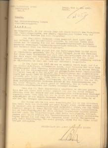 Bericht des Stadtbaumeisters Schäfer an das Kreiswohnungsamt, 1947 (Sta L B_3730)