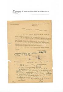 Karl Wattenberg an das Lemgoer Stadtbauamt - Ausbau Dachgeschoss, Lemgo, 1949 (Sta L B 4588)