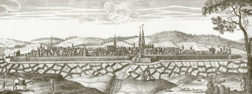 Stich Lemgo Elias von Lennep, 1663