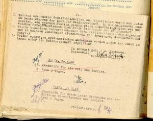 Anfrage an die Städte und Gemeinden im Kreis Lippe über das Schicksal der Juden nach 1933 (StaL B 2035)