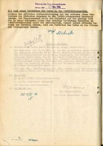 Reaktion des Lemgoer Wohlfahrtsausschusses auf die Anfrage Sternheims (StaL B 3541)
