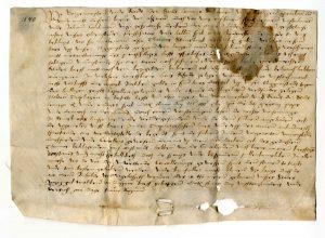 Urkunde vom 6. Januar 1540 (StaL U 1023)