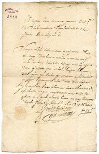 Spanische Urkunde (StaL U 1468)