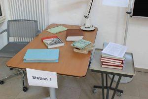 Recherche-Station im Stadtarchiv Lemgo, Tag des offenen Denkmals 11.09.2016 (Foto: Oeben)