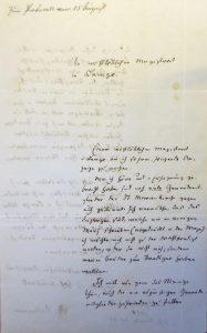 Schreiben Rudolf Kulemanns an den Magistrat der Stadt Lemgo, 08.07.1848 (Sta L A 4317)