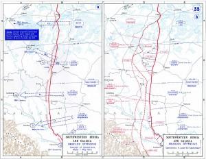 Südöstliche Ostfront während der Brussilow-Offensive