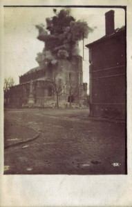 Bachmann_Haus unter Beschuss, Postkarte vom 6.1.16_PK_086_V