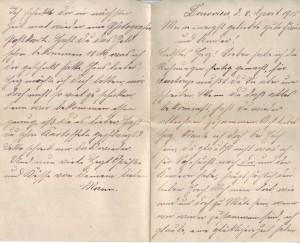 Brief vom 08.04.1915